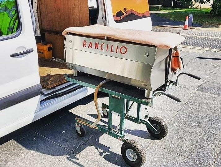 Transportni, dostavni voziček